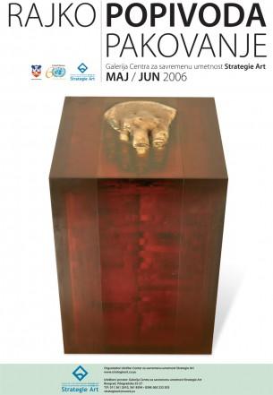 Izložba obuhvata osamnest radova različitog formata od kojih se deset izlaže u prostoru a osam na zidovima glerije. Rađeni su od bronze, mesinga, pleksiglasa, poliestera, soli, plavog kamena, uglja, cigle, papira, platna, suvog cveća, hleba, olova, drveta, gume i boje u različitim kombinacijama. Nastali su od 2004. do 2006. godine