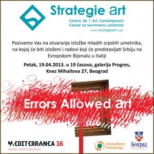 StrategieArt Errors Allowed