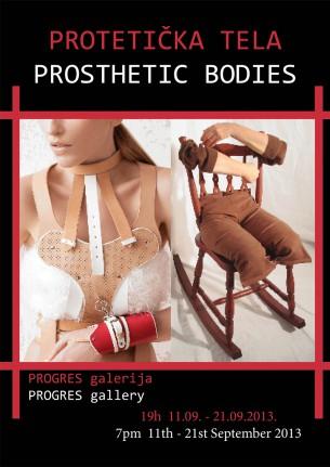 """U sredu, 11. septembra, u 19h, u galeriji Progres, u Knez Mihajlovoj ulici, otvara se izložba pod nazivom """"Protetička tela"""". Dvadeset troje likovnih umetnika iz zemlje i inostranstva, izložiće svoje slike, crteže, video radove, skulpture, britanski bend """"Marcella and The Forget Me Nots"""" muzički spot, dok će austrijska modna kreatorka Marina Hoermanseder prikazati dokumentaciju svoje modne kolekcije.  Kustoskinja izložbe je Jana Stojaković."""